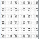 Примеры для отработки навыка сложения и вычитания трёхзначных чисел