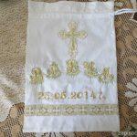 Мешочек для крестильных принадлежностей (схема)