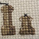 Вышивка крестиком: мельничка для перца и солонка (схема)